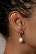 Wolf Circus Small Pearl Hoop Earrings