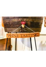 """""""Wine Tasting"""" Sign 17"""""""