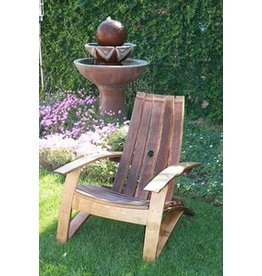 Wine Barrel Chair (Free Shipping)