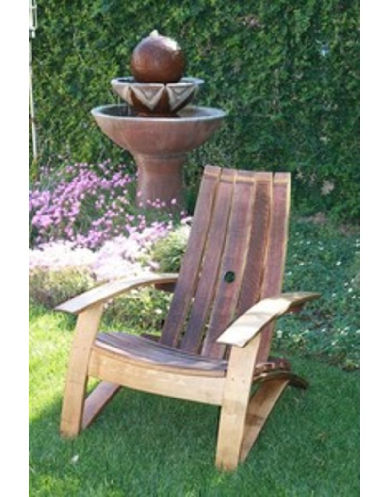 Wine Barrel Chair - Wine Barrel Chair - Domain Home & Garden-Napa Valley Dreaming