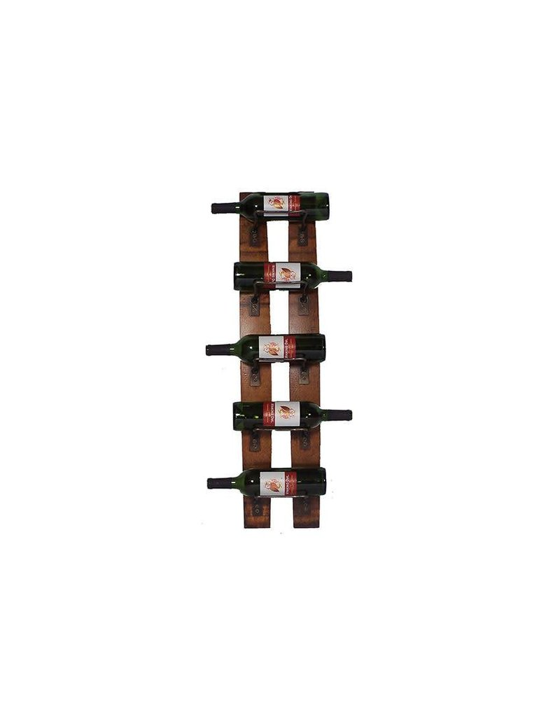 Two Stave Vertical Wine Rack