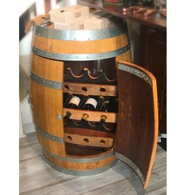 Wine Barrel 12 Bottle Wine Rack
