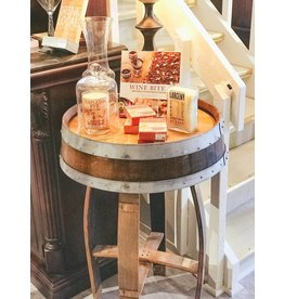 "36"" Wine Barrel Table/2 Rings"