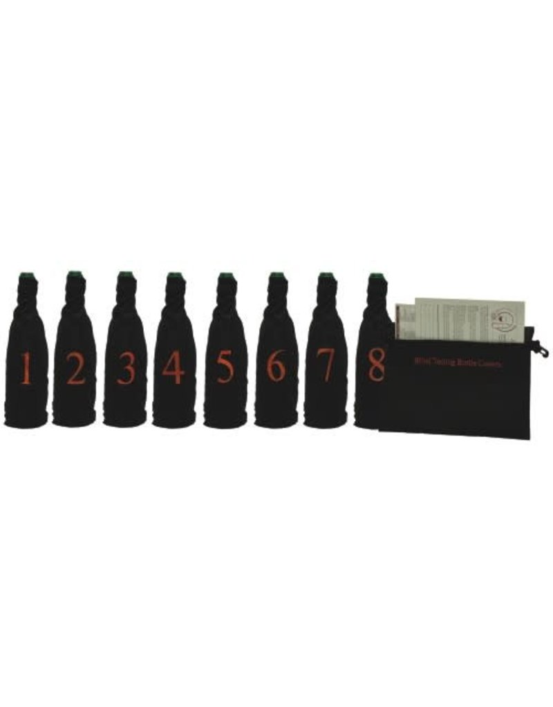 Blind Wine Tasting Kit with Storage Pouch