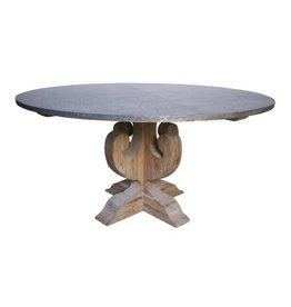 "Zinc Dining Table 60"" x 30"""