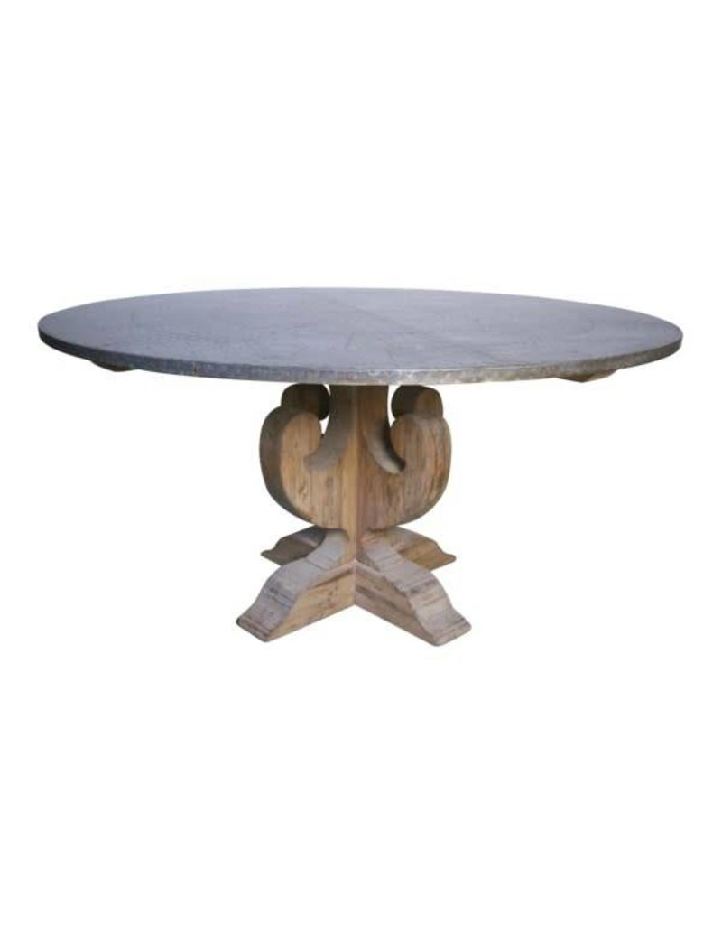 "Zinc Dining Table 60"" x 30"""