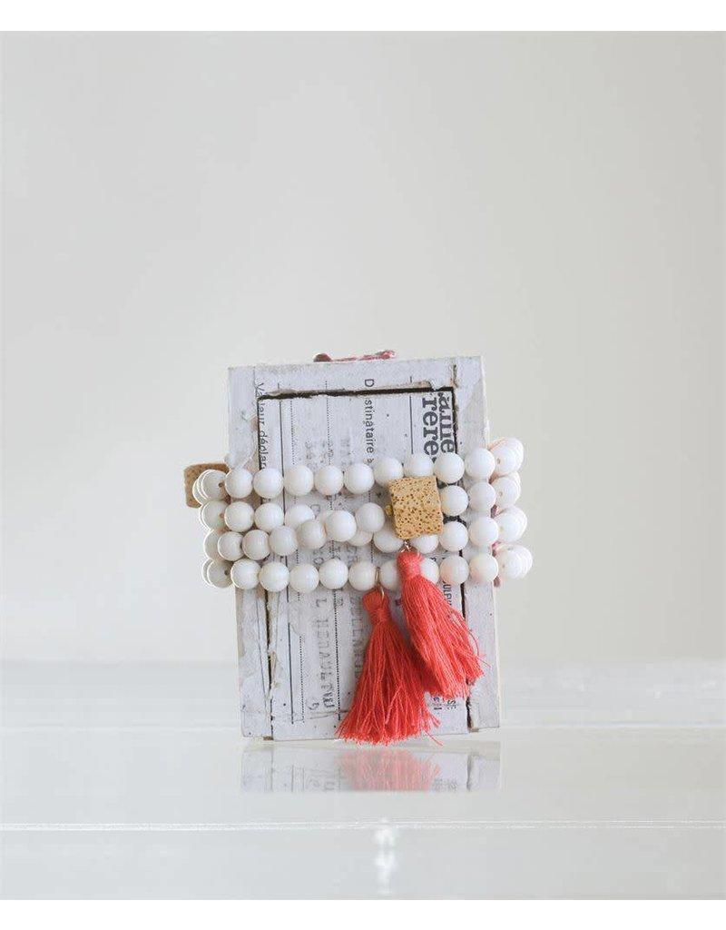 Shell Bead Lark Bracelet