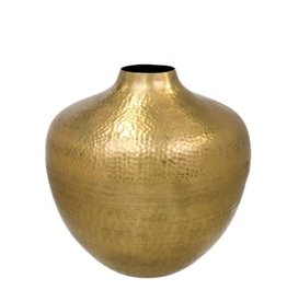 Hammered Helios Vase, Large
