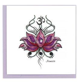 Quilling Card - Namaste