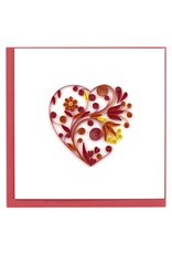 Quilling Card - Heart
