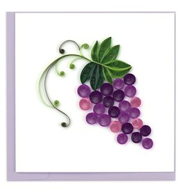 Quilling Card - Grapes