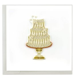 Quilling Card - Wedding Cake