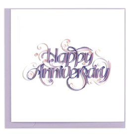 Quilling Card - Happy Anniversary