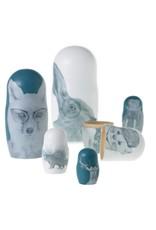 Framily Nesting Dolls-Set of 6