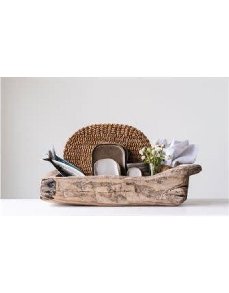 Found Decorative Wood Trug