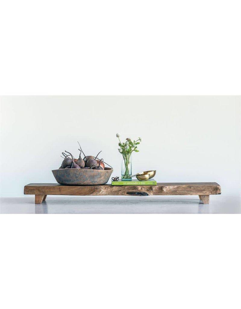 Madre De Cacao Wood Pedestal