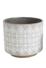 Stoneware Pot-Lg.