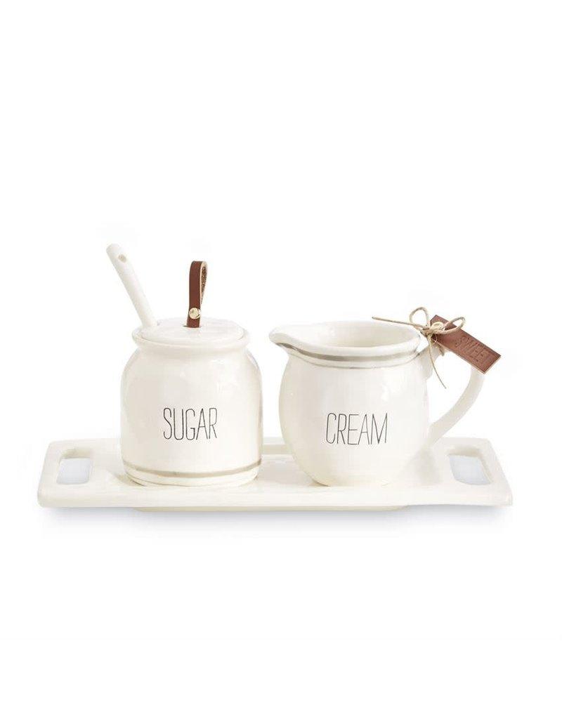 Bistro Cream & Sugar Set