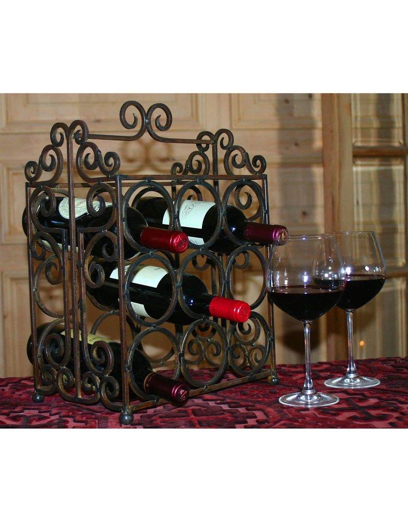 Wine Rack 9 Bottle
