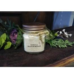 Kiwi & Watermelon - Mini Mason Candle