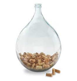 Large Carafe Glass Vase
