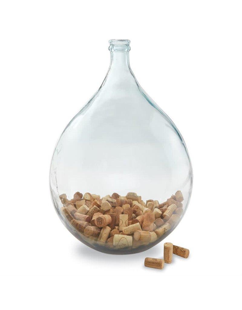 Large Carafe Glass Vase