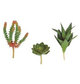Mini Faux Succulent Stem