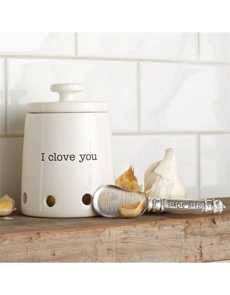 Ceramic Garlic Keeper Set
