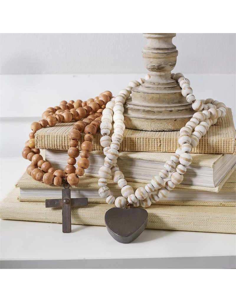 Wood & Iron Blessing Beads