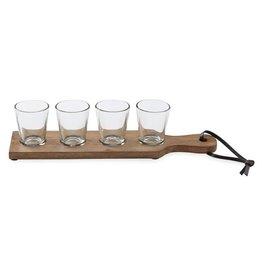 Shot Glass Paddle Board Set