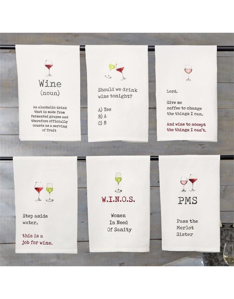 Wine Hand Towels