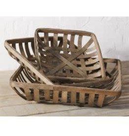 Tobacco Basket-Med.