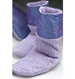 Lavender Spa Booties-Pair