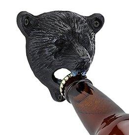 Wall Mounted Bear Bottle Opener