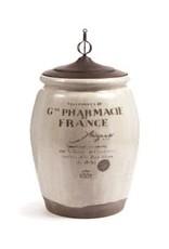 Paris 1914 Pharmacie Urn w/Lid