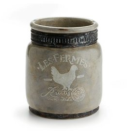 Les Fermes Rustique Jar-Grey