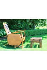 Wine Barrel Chair w/Side Table (Free Shipping)