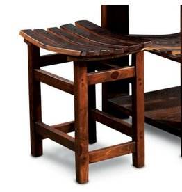 Wine Barrel Tasting Stool