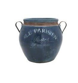 Parisien Vase/Blue/Rudolph/Sm