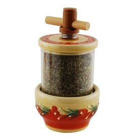 Herbs Grinder Terracotta
