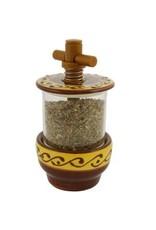 Herb Grinder Arabesque Brn/Ye