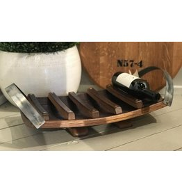 Tabletop Wine Rack w/Double Handles
