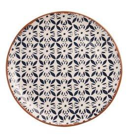 Circular Flower Platter