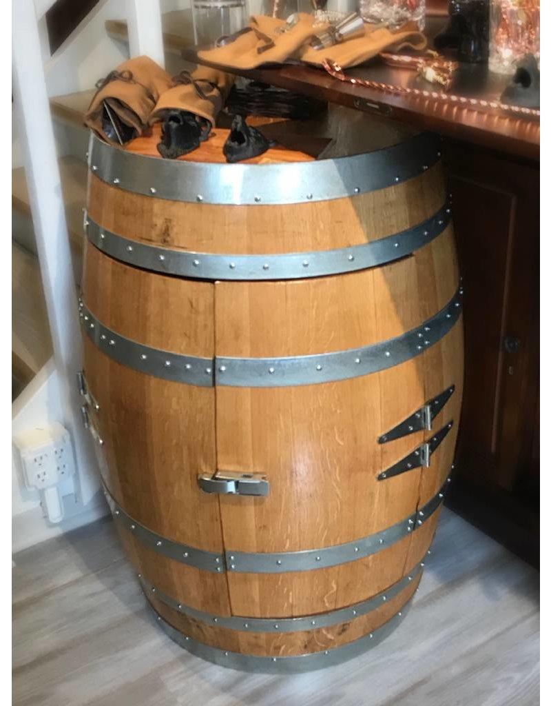 Wine Barrel 12 Bottle Wine Rack