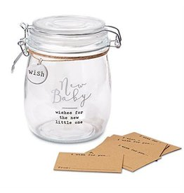 New Baby Sentiment Jar