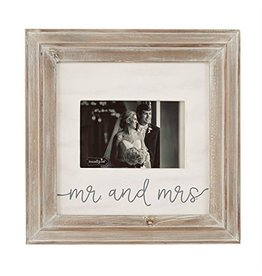 "Mr & Mrs 11"" Picture Frame"