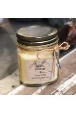 Beach Bonfire - Mini Mason Candle
