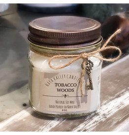 Tobacco Woods - Mini Mason Candle
