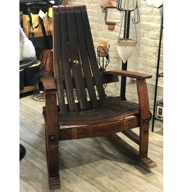 Wine Barrel Rocking Chair (Free Shipping)