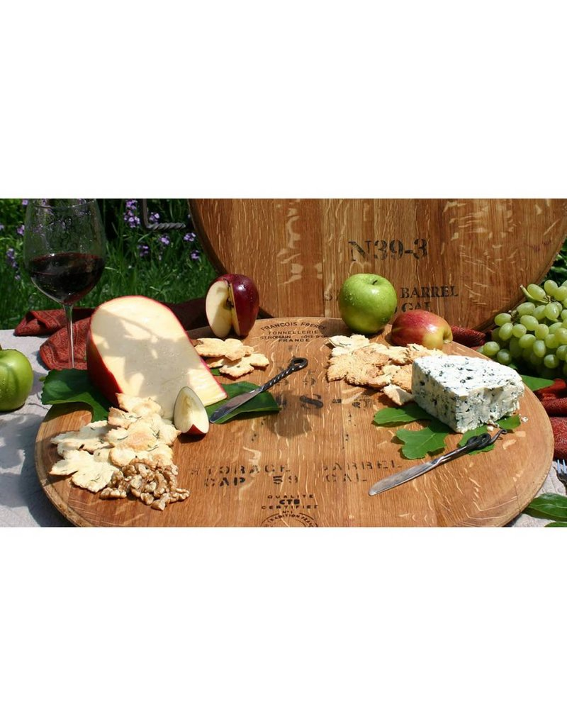 "22"" Wine Cask Lazy Susan"